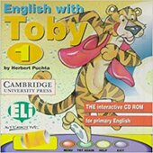 Аудіодиск English with Toby 1 CD-ROM for Windows