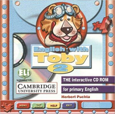 Аудіодиск English with Toby 2 CD-ROM for Windows
