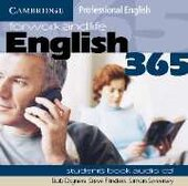 English365 1 Audio CD Set (2 CDs) For Work and Life - фото обкладинки книги
