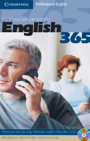 English365 1 Personal Study Book with Audio CD For Work and Life - фото книги