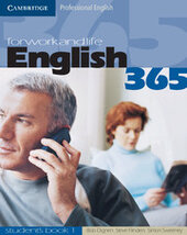 English365 1 Student's Book For Work and Life - фото обкладинки книги