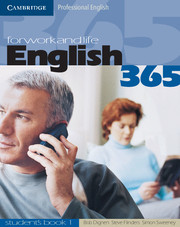 English365 1 Student's Book For Work and Life - фото книги