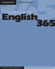 Книга для вчителя English365 1 Teacher's Guide For Work and Life