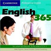 English365 3 Audio CD Set (2 CDs) - фото обкладинки книги