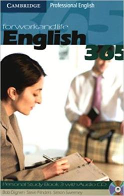 English365 3 Personal Study Book with Audio CD - фото книги
