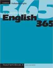 English365 3 Teacher's Book - фото обкладинки книги