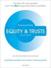 Equity & Trusts Concentrate: Law Revision and Study Guide - фото обкладинки книги