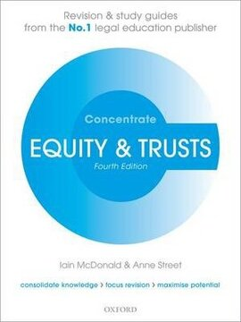 Equity & Trusts Concentrate: Law Revision and Study Guide - фото книги