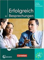 Erfolgreich in Besprechungen. Kursbuch mit CD - фото обкладинки книги
