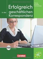 Erfolgreich in der geschaftlichen Korrespondenz. Kursbuch mit CD - фото обкладинки книги