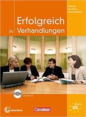 Erfolgreich in Verhandlungen. Kursbuch mit CD - фото обкладинки книги