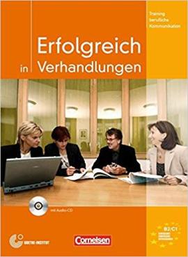 Erfolgreich in Verhandlungen. Kursbuch mit CD - фото книги