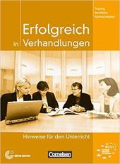 Erfolgreich in Verhandlungen. Lehrerhandbuch - фото обкладинки книги