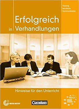 Erfolgreich in Verhandlungen. Lehrerhandbuch - фото книги