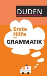 Erste Hilfe  Grammatik