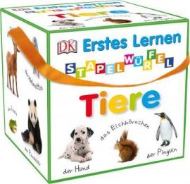 Erstes Lernen - Stapelwrfel Tiere: Stapeln, staunen, spielen (набір іграшкових кубиків) - фото книги