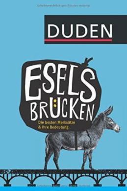 Eselsbrcken: Die besten Merkstze und ihre Bedeutung - фото книги