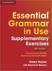 Essential Grammar in Use Supplementary Exercises To Accompany Essential Grammar in Use Fourth Edition - фото обкладинки книги