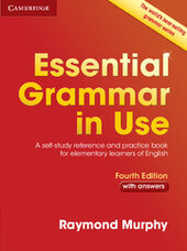 Essential Grammar in Use with Answers - фото обкладинки книги
