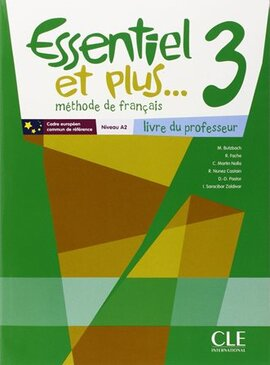 Essentiel еt Plus : Guide Pedagogique 3 & CD-Audio - фото книги