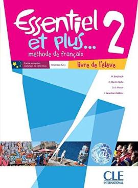 Essentiel et plus : Livre de l'eleve 2 & CD mp3 - фото книги