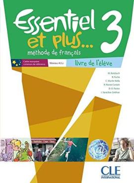 Essentiel et plus : Livre de l'eleve 3 & CD mp3 - фото книги