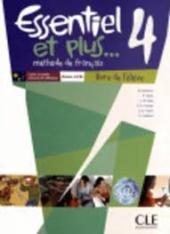 Essentiel et plus : Livre de l'eleve 4 & CD mp3 - фото обкладинки книги