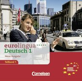 Eurolingua 1 Teil 1 (1-8) CD A1 - фото обкладинки книги