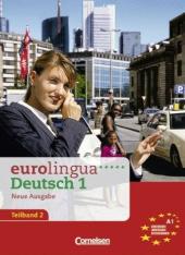 Eurolingua 1 Teil 2 (9-16) Kurs- und Arbeitsbuch (містить підручник і роб.зошит) - фото обкладинки книги