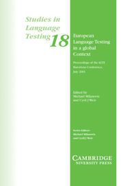 European Language Testing in a Global Context - фото книги