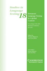 Посібник European Language Testing in a Global Context