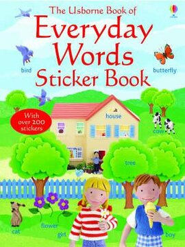Everyday Words in English. Sticker Book - фото книги