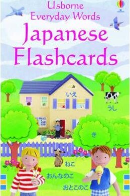 Everyday Words in Japanese. Flashcards - фото книги