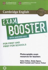 Exam Booster for First and First for Schools with Answer Key with Audio for Tearchers - фото обкладинки книги