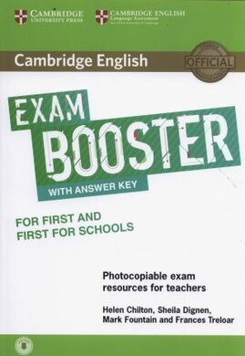 Exam Booster for First and First for Schools with Answer Key with Audio for Tearchers - фото книги
