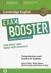 Підручник Exam Booster for First and First for Schools without Answer Key with Audio