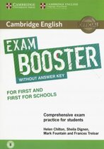 Комплект книг Exam Booster for First and First for Schools without Answer Key with Audio