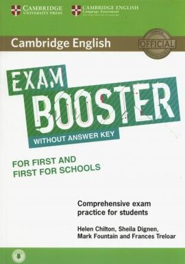 Exam Booster for First and First for Schools without Answer Key with Audio - фото книги