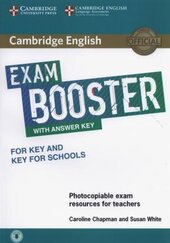 Exam Booster for Key and Key for Schools with Answer Key with Audio - фото обкладинки книги