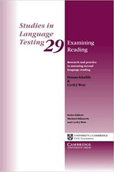 Examining Reading: Research and Practice in Assessing Second Language Reading - фото обкладинки книги