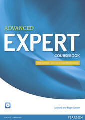 Expert Advanced 3rd Edition Coursebook with CD Pack (підручник) - фото обкладинки книги