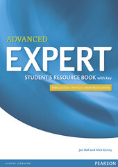 Expert Advanced 3rd Edition Student's Resource Book with Key (підручник) - фото обкладинки книги