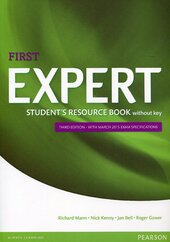 Expert First 3rd Edition Student's Resource Book without key (підручник) - фото обкладинки книги