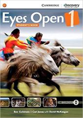 Eyes Open Level 1 Student's Book - фото обкладинки книги