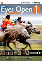 Аудіодиск Eyes Open Level 1 Student's Book