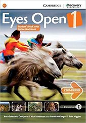 Eyes Open Level 1 Student's Book with Online Workbook and Online Practice - фото обкладинки книги
