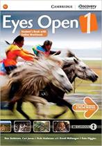 Аудіодиск Eyes Open Level 1 Student's Book with Online Workbook and Online Practice