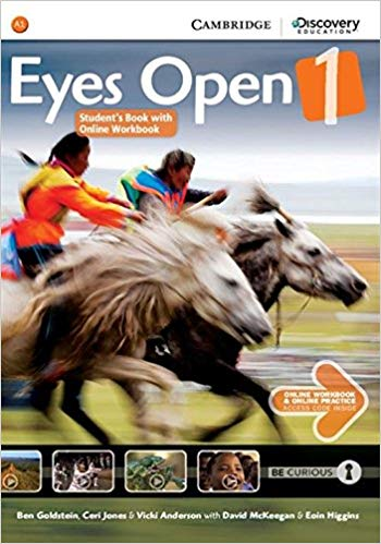 Підручник Eyes Open Level 1 Student's Book with Online Workbook and Online Practice