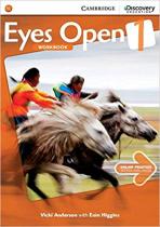 Аудіодиск Eyes Open Level 1 Workbook with Online Practice