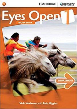 Робочий зошит Eyes Open Level 1 Workbook with Online Practice